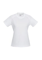 Load image into Gallery viewer, White / 6 Ladies Sprint Tee