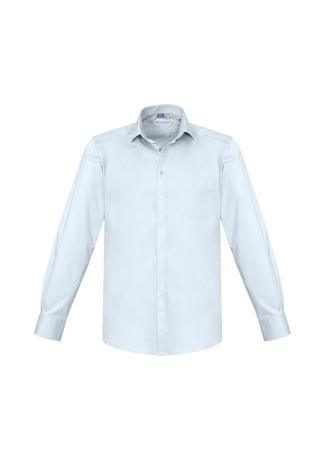 White / XS Mens Monaco Long Sleeve Shirt