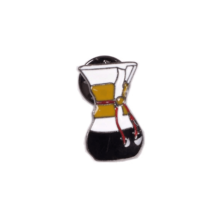 BADGE Chemex Pin Badge