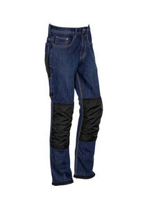 Blue Denim / 72 Mens Heavy Duty Cordura® Stretch Denim Jeans