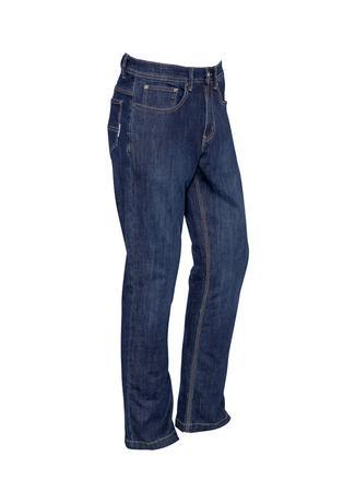 Blue Denim / 72 Mens Stretch Denim Work Jeans