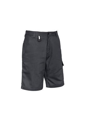 Charcoal / 72 Mens Rugged Cooling Vented Short