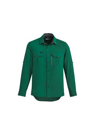 Green / XXS Mens Outdoor L/S Shirt