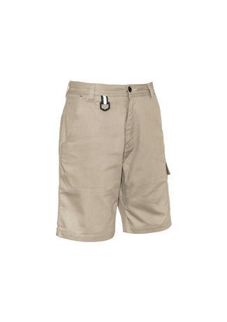 Khaki / 72 Mens Rugged Cooling Vented Short