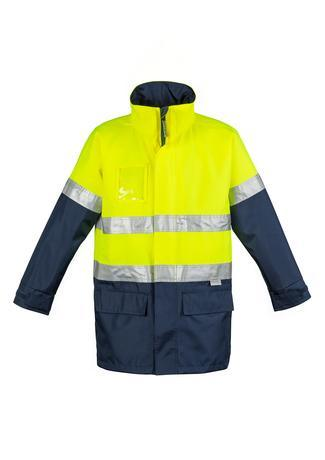 Mens Hi Vis Waterproof Lightweight Jacket