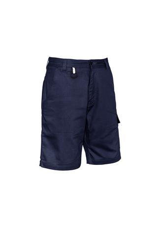 Navy / 72 Mens Rugged Cooling Vented Short