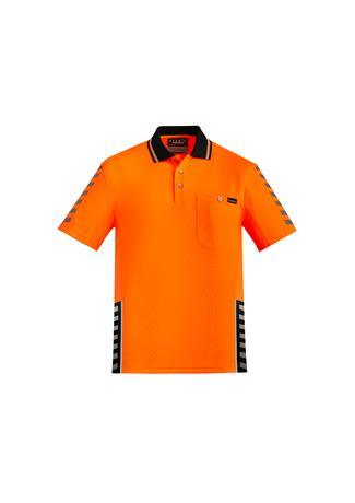 Orange/Black / XXS Mens Komodo Polo