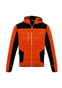 Orange/Black / XXS Unisex Streetworx Reinforced Knit Hoodie