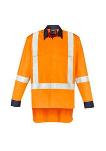 Orange / XXS Mens TTMC-W17 X Back Work Shirt