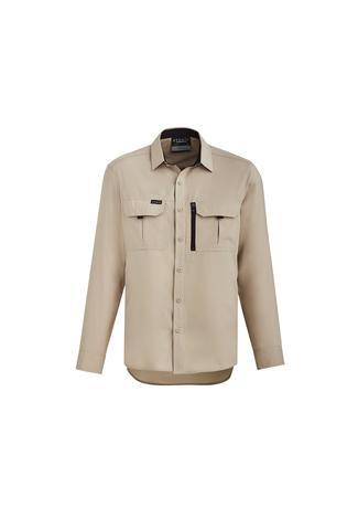 Sand / XXS Mens Outdoor L/S Shirt