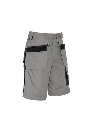 Silver/Black / 72 Mens Ultralite Multi-pocket Short