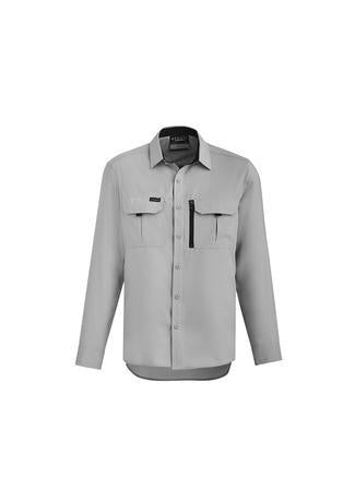 Stone / XXS Mens Outdoor L/S Shirt