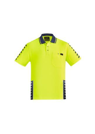 Yellow/Navy / XXS Mens Komodo Polo