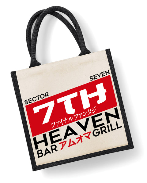 7th Heaven Bar & Grill - Eco Friendly Jute Bag