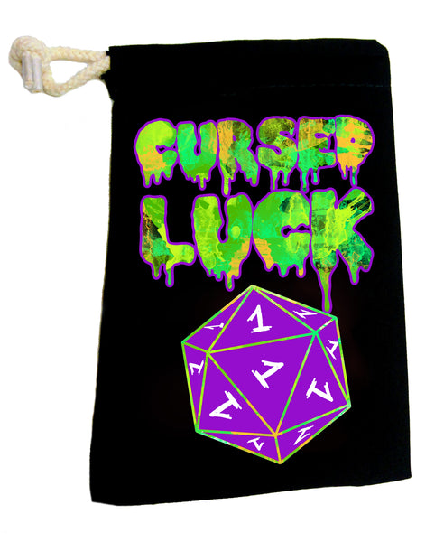 Cursed Luck- Dice Pouch