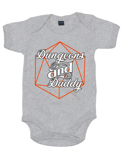 Dungeons & Daddy - Baby Grow Body Suit