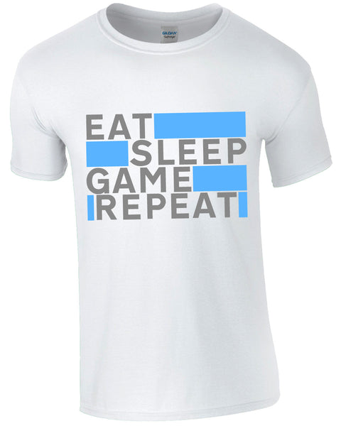 Eat Sleep Game Repeat - TShirt
