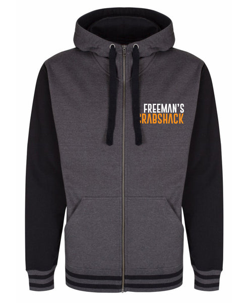 Freeman's Crab Shack - Premium Zip Hoody