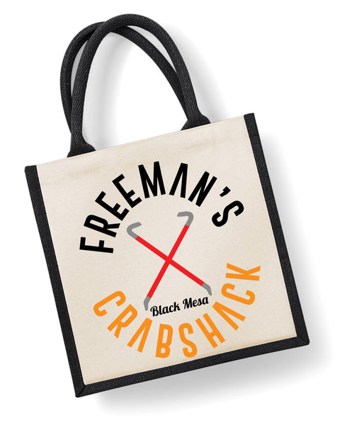 Freeman's Crabshack - Eco Friendly Jute Bag