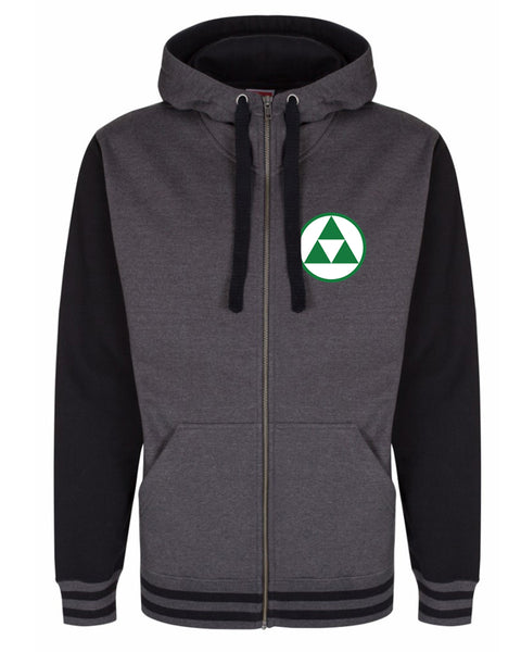 Link's Monster Hunting - Premium Zip Hoody