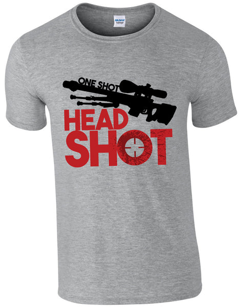 One Shot Head Shot - TShirt