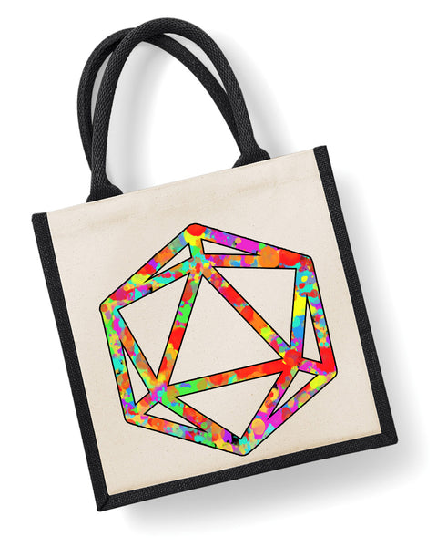 Prismatic Die - Eco Friendly Jute Bag