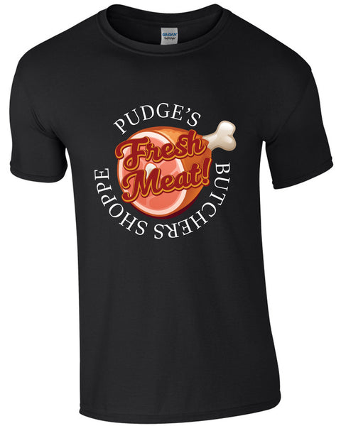 Pudge's Butchers Shoppe - TShirt