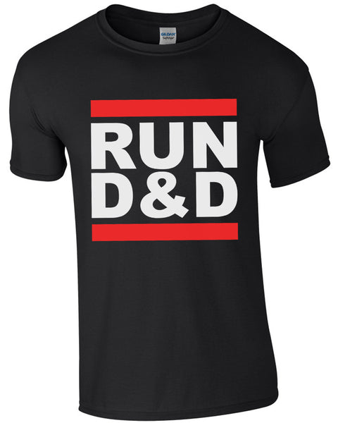 RUN D&D - TShirt