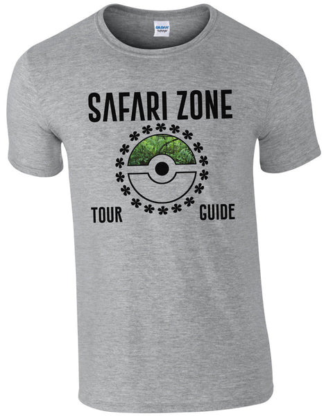 Safari Zone Tour Guide - TShirt