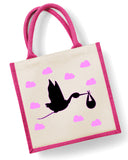 Baby Stork - Eco Friendly Jute Bag