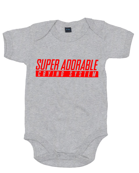 Super Adorable - Baby Grow Body Suit