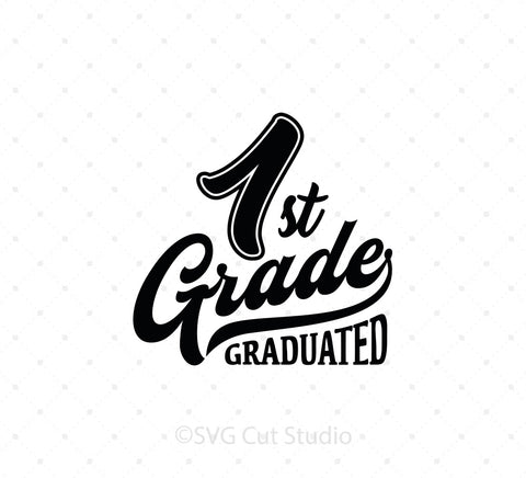 1st Grade SVG Cut Files