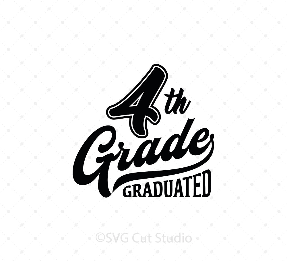 4th Grade SVG Cut Files
