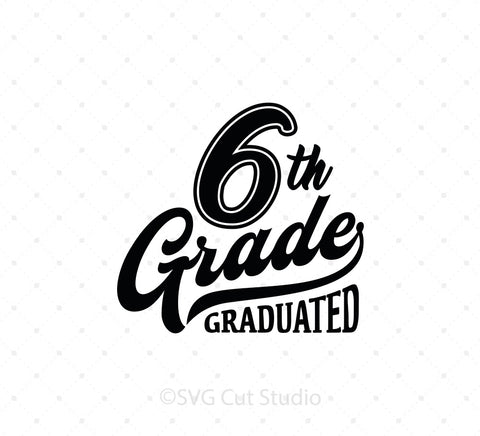 6th Grade SVG Cut Files at SVG Cut Studio for Cricut Explore Silhouette Cameo free svg files