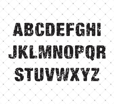 Distressed Basic Font - Installable TTF and OTF format