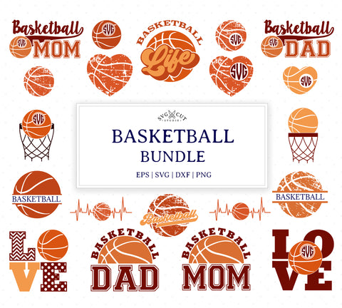 Basketball SVG Mini Bundle