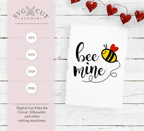 Bee Mine SVG Cut Files