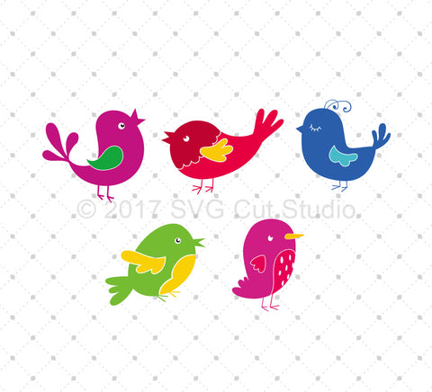 Birds SVG Cut Files
