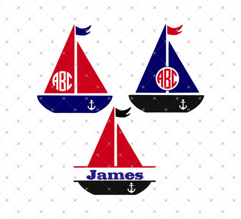 Boat SVG Cut Files