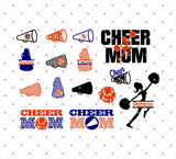Cheer Mom SVG Files for Cricut Explore Silhouette Cameo Etsy svg files SVG Cut Studio
