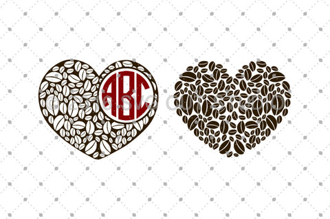 Coffee Love SVG Cut Files
