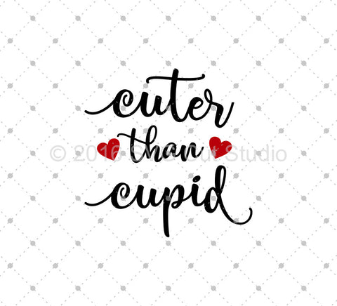 Cuter Than Cupid SVG Cut Files at SVG Cut Studio