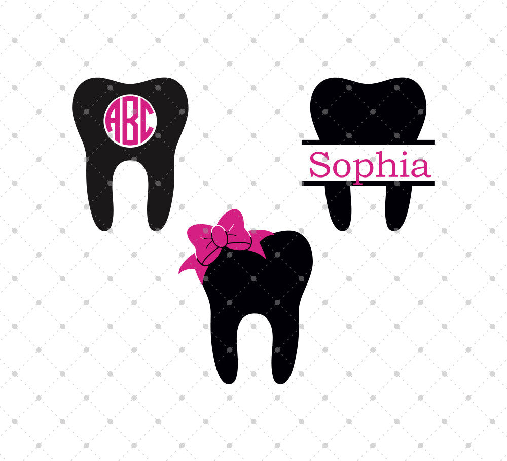 Dentist Tooth SVG Cut Files