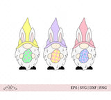 Easter Gnomes SVG Files