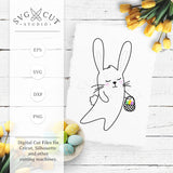 Easter Bunny SVG Files for Cricut and Silhouette