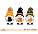 Halloween Fall Gnomes SVG Files