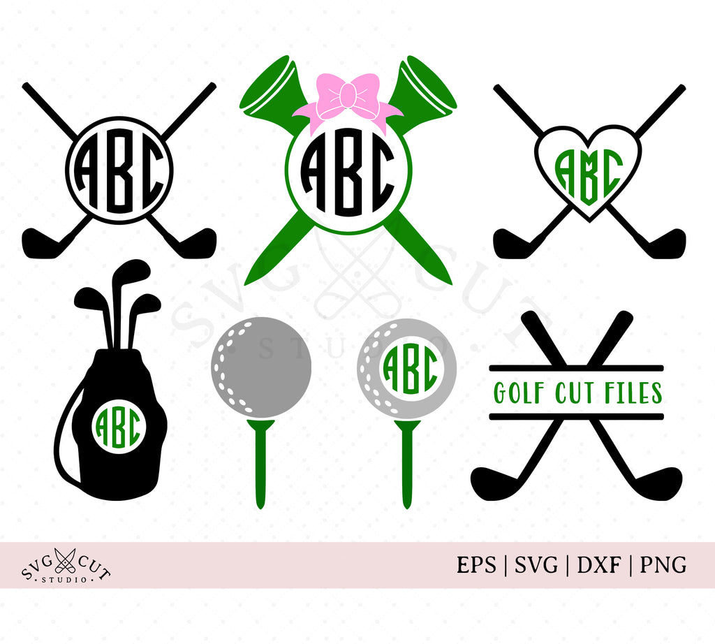 Golf SVG Cut Files