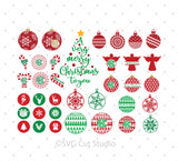 Christmas SVG Bundle at SVG Cut Studio for Cricut Explore Silhouette Cameo free svg files
