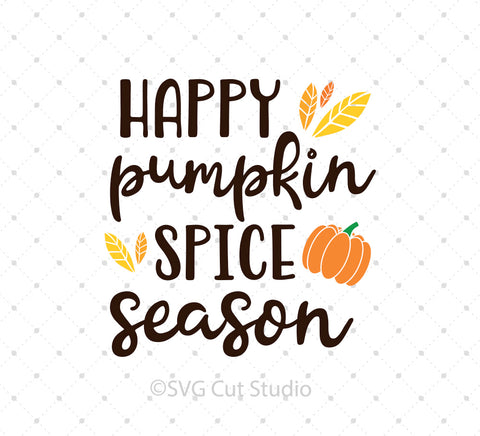 Pumpkin Spice Season  SVG Cut Files