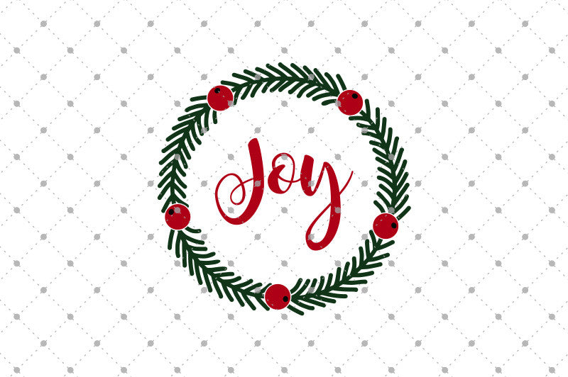 Christmas Wreath Silhouette.Christmas Wreath Svg Files D3